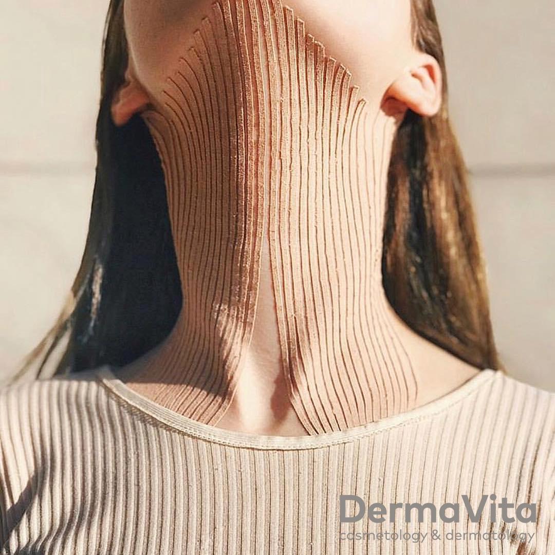 Тейпування обличчя, шия