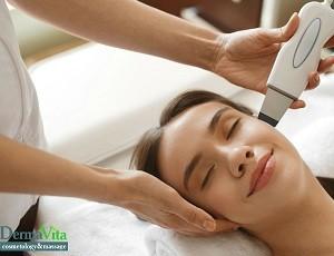 Oczyszczenie twarzy ultradźwiękowe